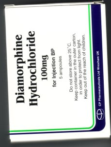 diamorphine - heroin on prescription