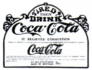 Cocaine is removed from Coca Cola in 1903