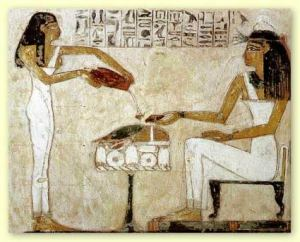 Earliest recorded brewing in Eqypt
